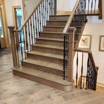 dustless-stairs-refinishing-toronto-north-york
