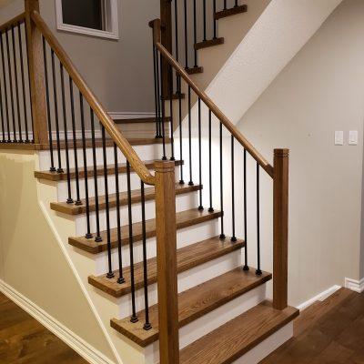 dustless-stairs-refinishing-white-risers-brampon